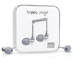 HAPPY PLUGS Deluxe Edition Headphones - Space Grey