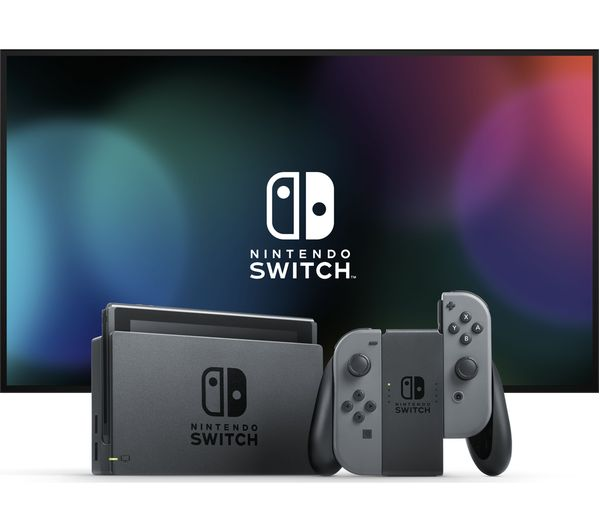 Nintendo Switch Grey Fast Delivery Currysie