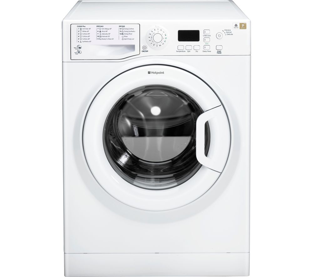 Compare prices for Hotpoint Aquarius FDF 9640 P 9 kg Washer Dryer