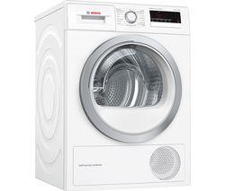 BOSCH Serie 4 WTM85230GB 8 kg Condenser Tumble Dryer - White