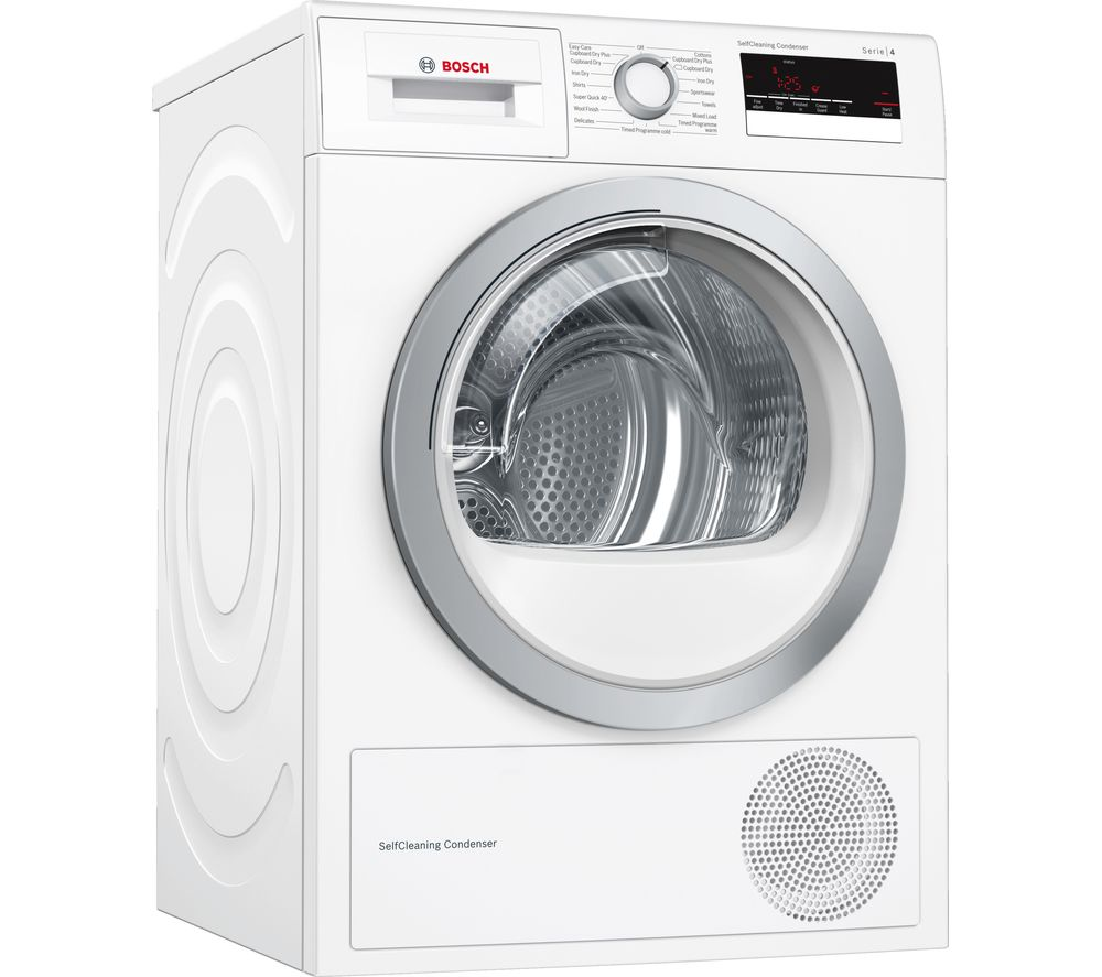 BOSCH Serie 4 WTM85230GB 8 kg Condenser Tumble Dryer - White