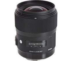 SIGMA 35 mm f/1.4 DG HSM Standard Prime Lens - for Nikon