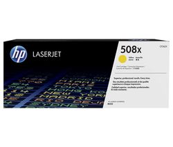 HP 508X High Yield Original LaserJet Yellow Toner Cartridge