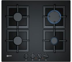 NEFF T26CA42S0 Gas Hob - Black