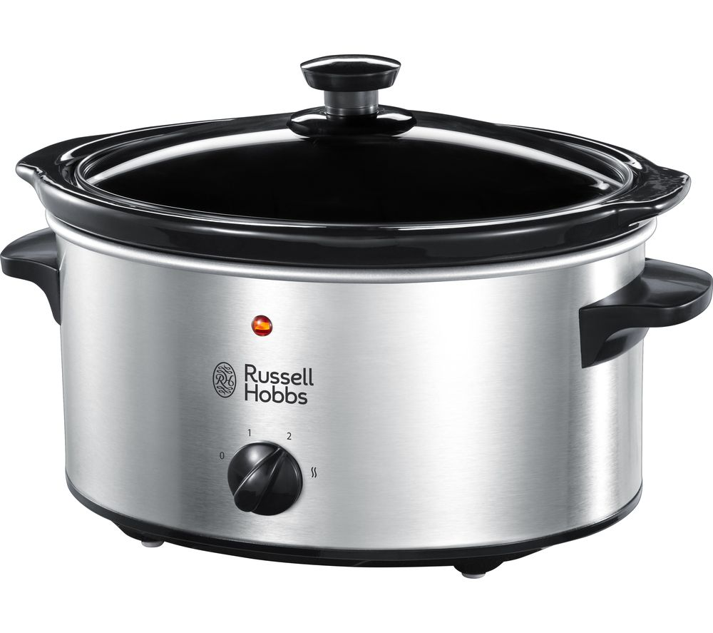 RUSSELL HOBBS 23200 Slow Cooker - Stainless Steel