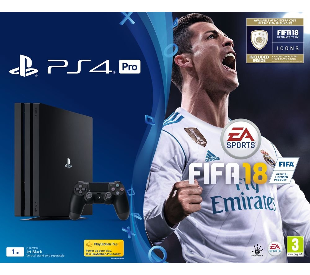 Compare prices for Sony PlayStation 4 Pro and FIFA 18