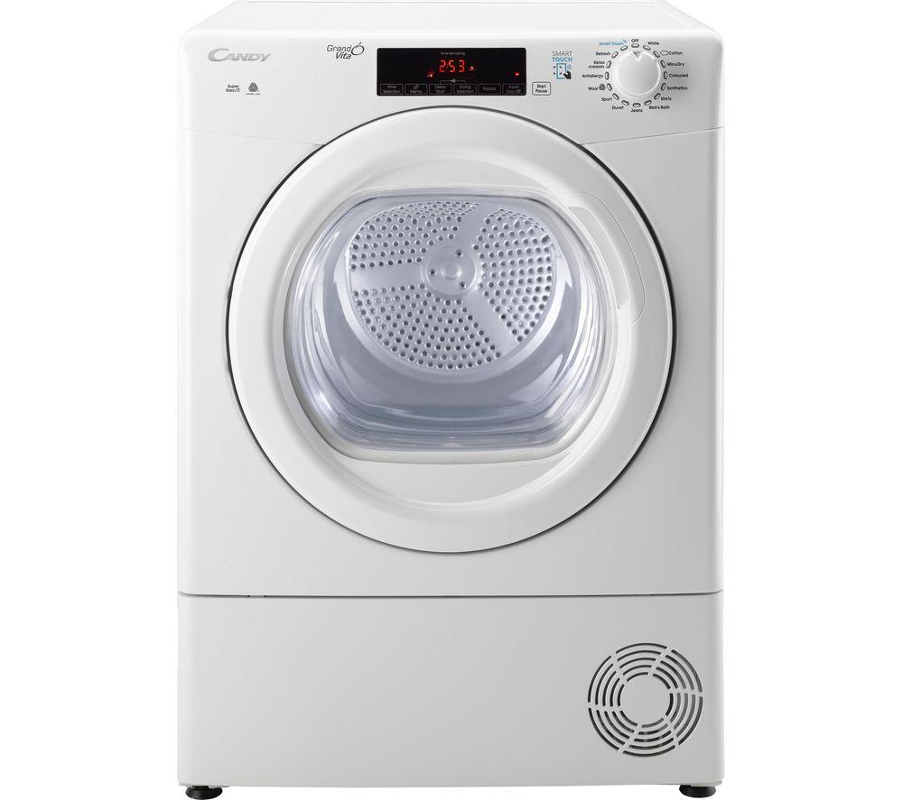 CANDY GSV C10TG NFC 10 kg Condenser Tumble Dryer - White