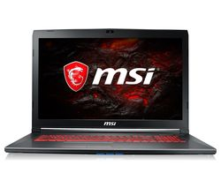 "MSI GV72 7RE 831UK 17.3"" Gaming Laptop - Black"