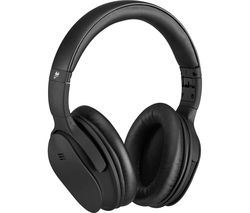 GOJI GTCBTNC18 Wireless Bluetooth Noise-Cancelling Headphones - Black