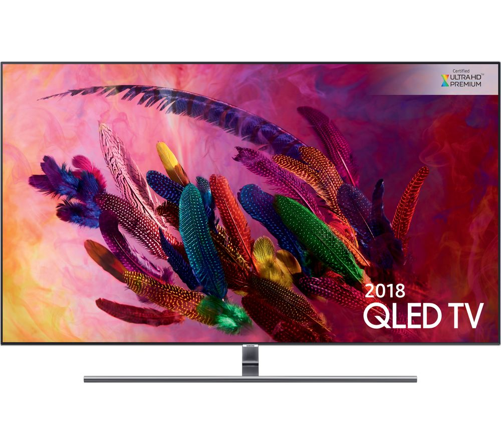 "Image of 65"" SAMSUNG QE65Q7FNATXXU Smart 4K Ultra HD HDR QLED TV, Gold"