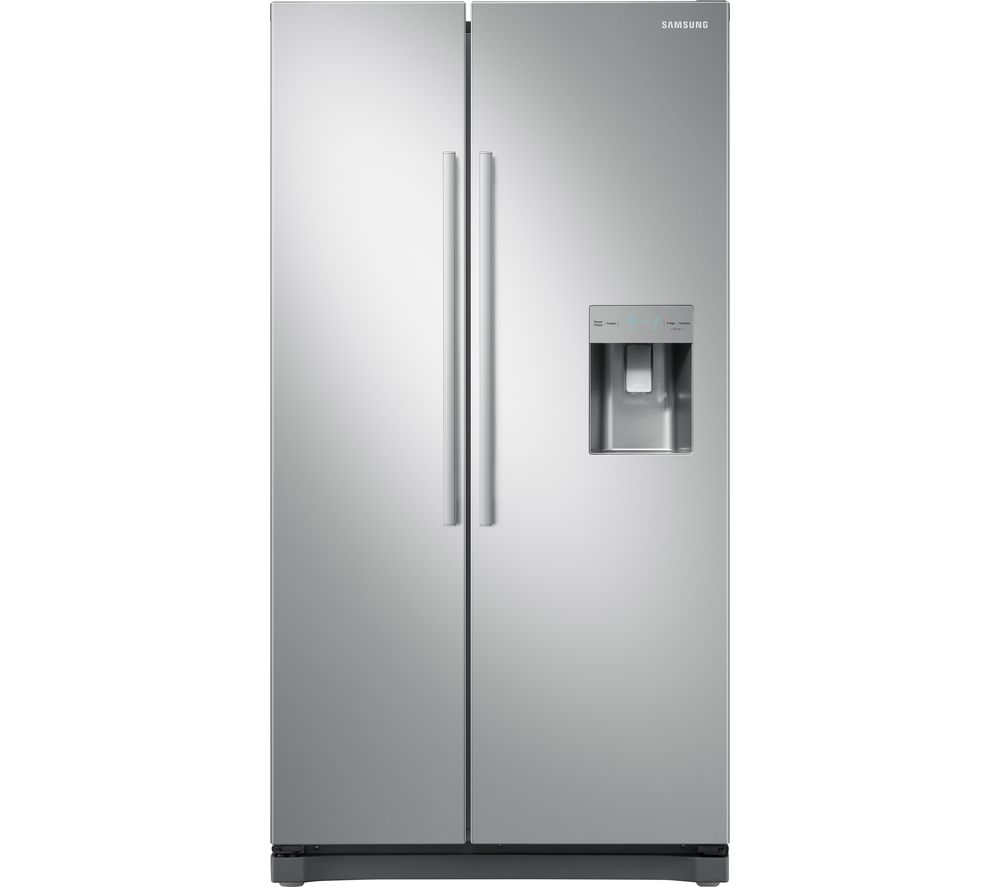 SAMSUNG RS3000 RS52N3313SA/EU American-Style Fridge Freezer - Metal Graphite