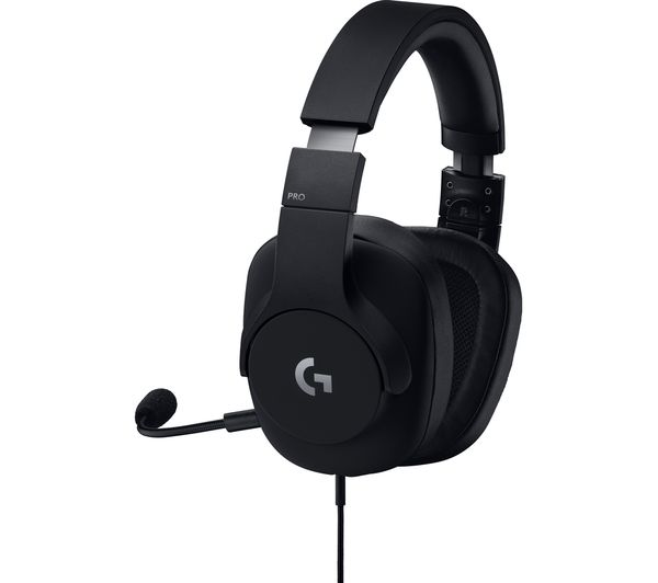c86e5209b85 Buy LOGITECH G PRO Gaming Headset - Black | Free Delivery | Currys