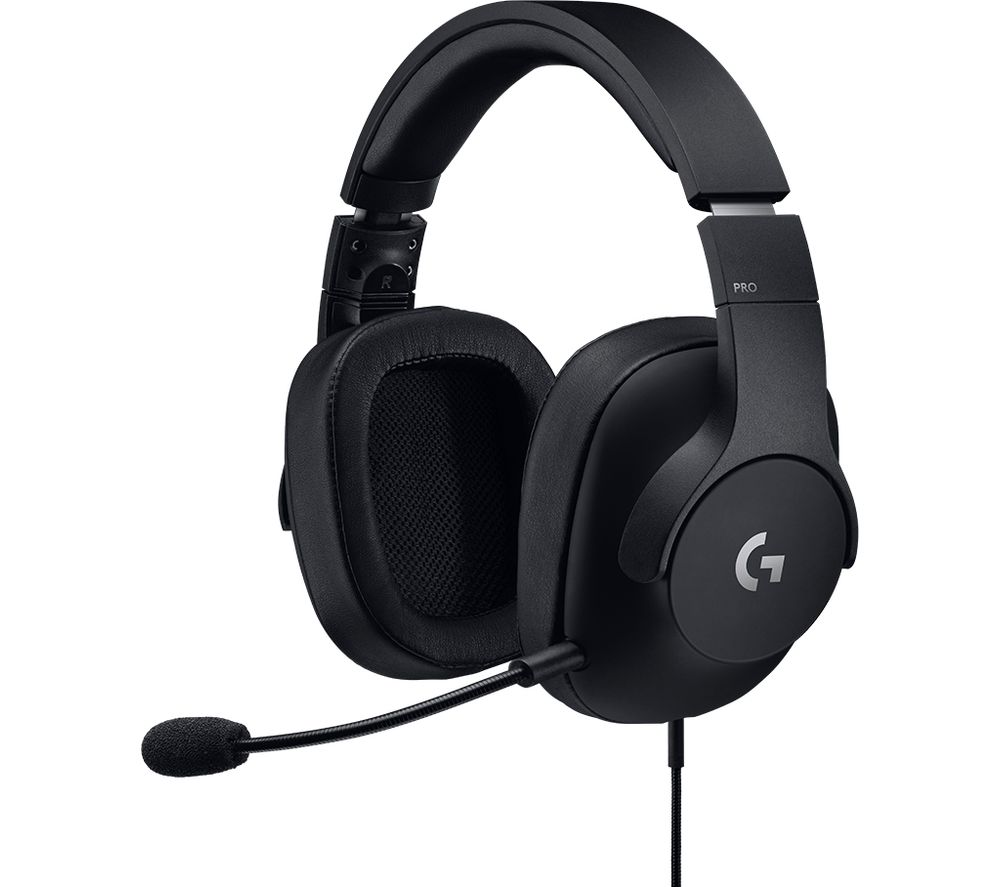 LOGITECH G PRO Gaming Headset - Black