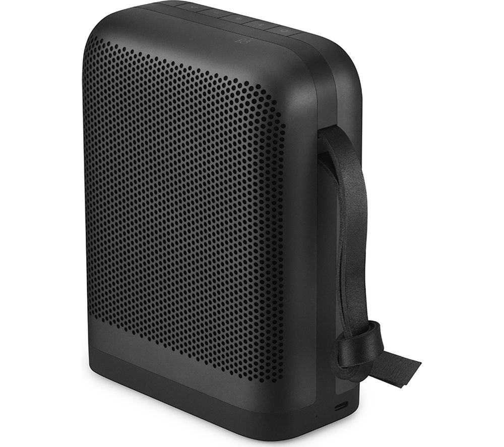 B&O B&O P6 Portable Bluetooth Speaker - Black, Black