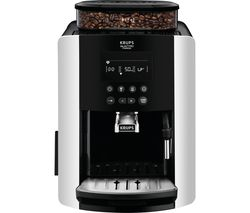 KRUPS Arabica Digital EA817840 Bean to Cup Coffee Machine - Silver Best Price, Cheapest Prices