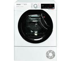 HOOVER Dynamic Next DX HY10A2TKE Smart 10 kg Heat Pump Tumble Dryer - White with Tinted Door