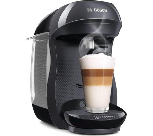 TASSIMO by Bosch Happy TAS1002GB Coffee Machine - Black