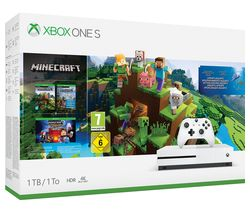 MICROSOFT Xbox One S with Minecraft