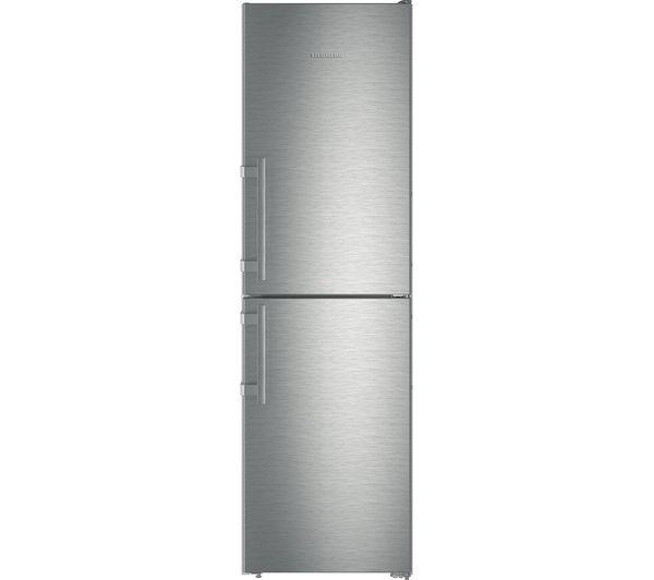 Image of LIEBHERR CNef3915 50/50 Fridge Freezer - Stainless Steel