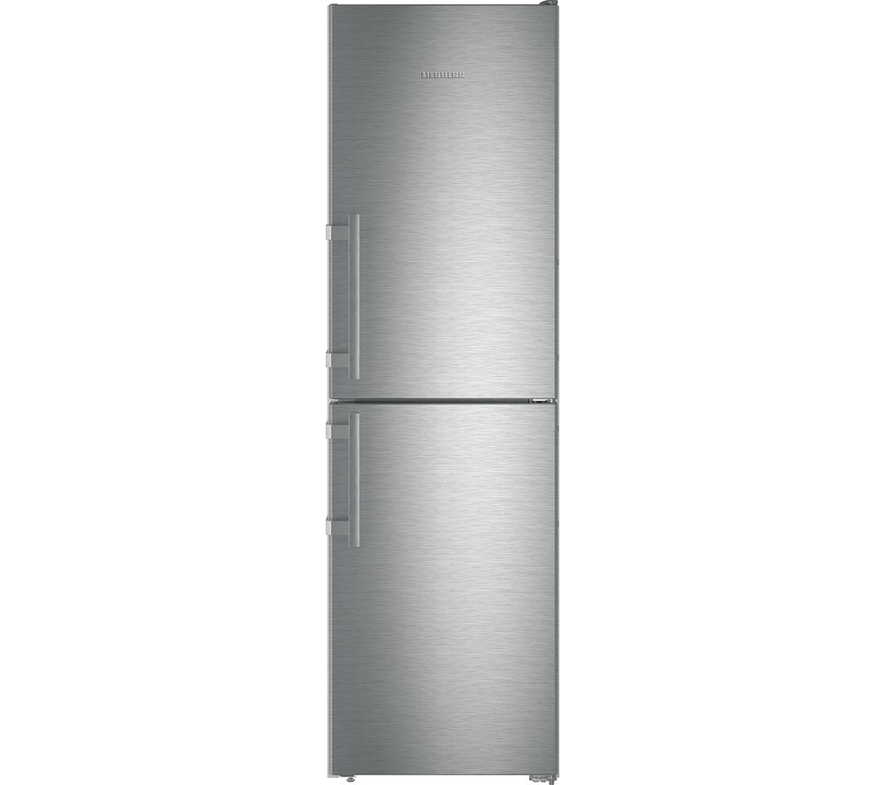 LIEBHERR CNef3915 50/50 Fridge Freezer - Stainless Steel, Stainless Steel