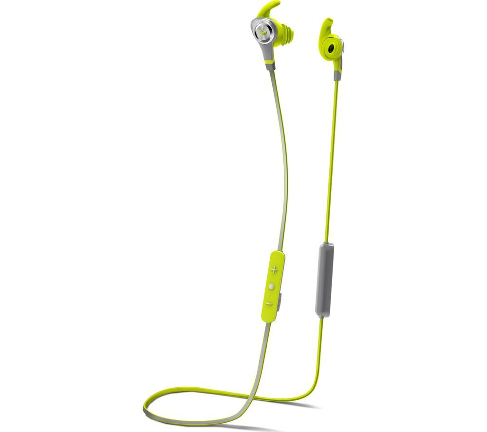 fcf5c21550b Buy MONSTER iSport Intensity Wireless Bluetooth Headphones - Green | Free  Delivery | Currys