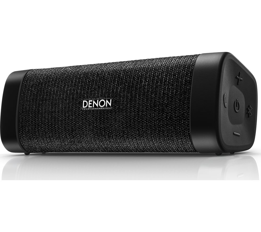 DENON Envaya Pocket DSB-50BT Portable Bluetooth Speaker - Black