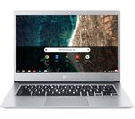 £329, ACER CB514-1H Touch 14inch Intel® Celeron® Chromebook - 32 GB eMMC, Chrome OS, Intel® Celeron® N3350 Processor, RAM: 4GB / Storage: 32GB eMMC, Full HD touchscreen, Battery life:Up to 12 hours,
