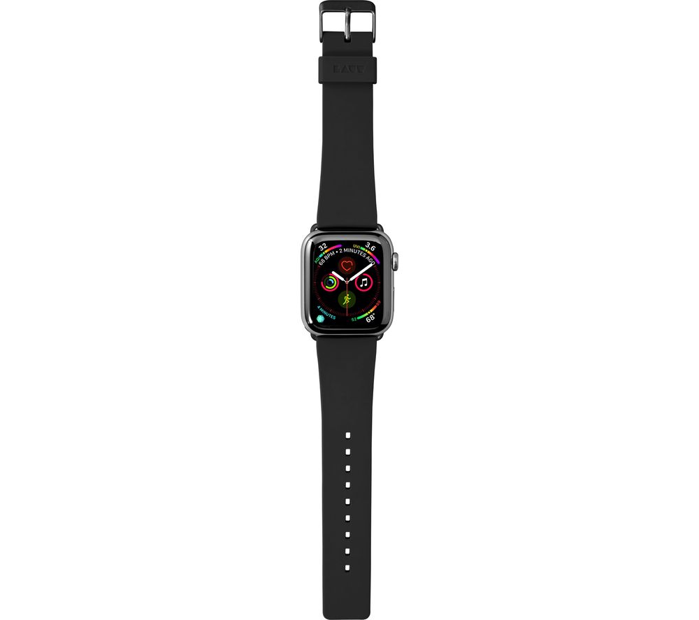LAUT Active 40-42 mm Apple Watch Strap - Onyx Black