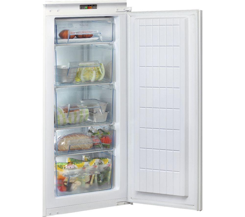 HOTPOINT Aquarius U 12 A1 D.UK/H.1 Integrated Tall Freezer - Sliding Hinge