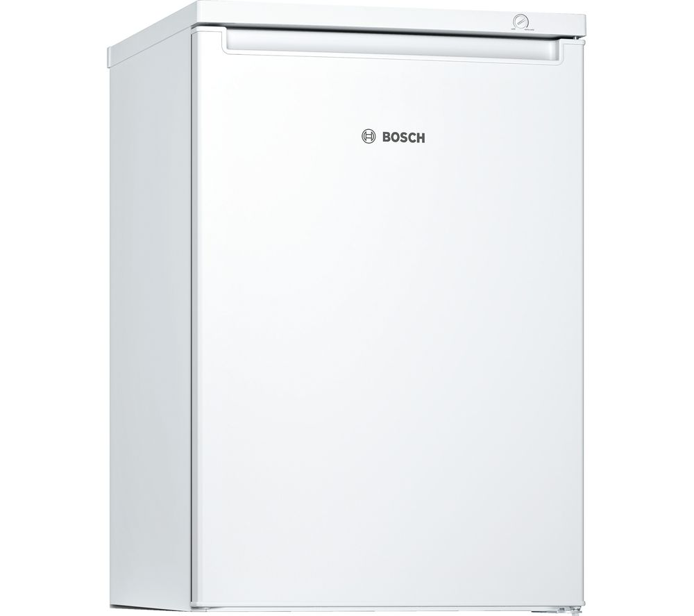 BOSCH Serie 2 GTV15NW3AG Undercounter Freezer - White