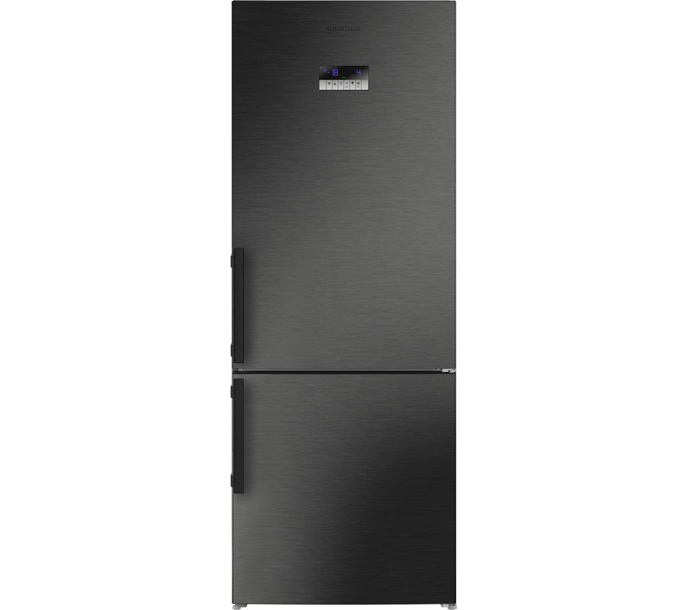 GRUNDIG GKN17920Z 60/40 Fridge Freezer - Dark Steel