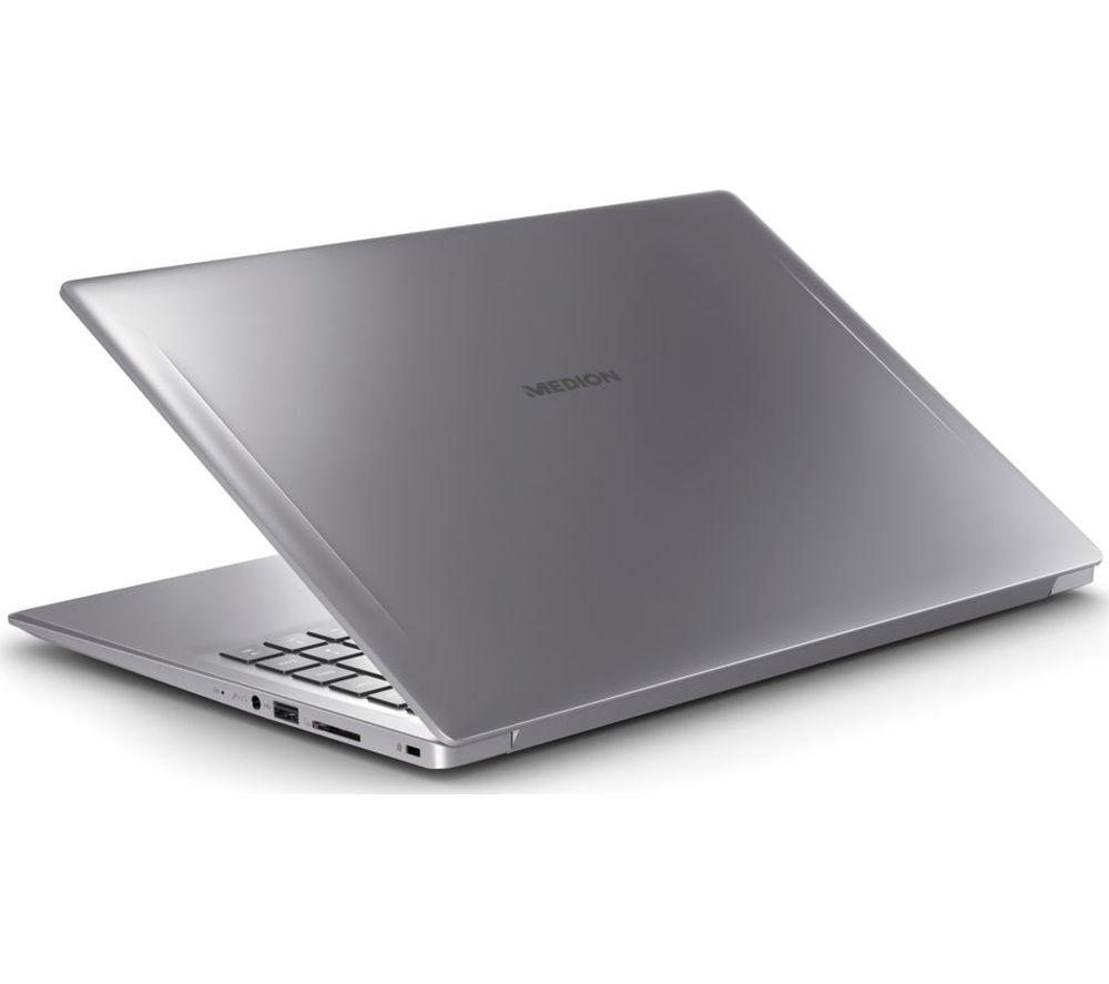 "Image of MEDION AKOYA S6445 15.6"" Intelu0026regCore™ i5 Laptop - 512 GB SSD, Silver, Silver"
