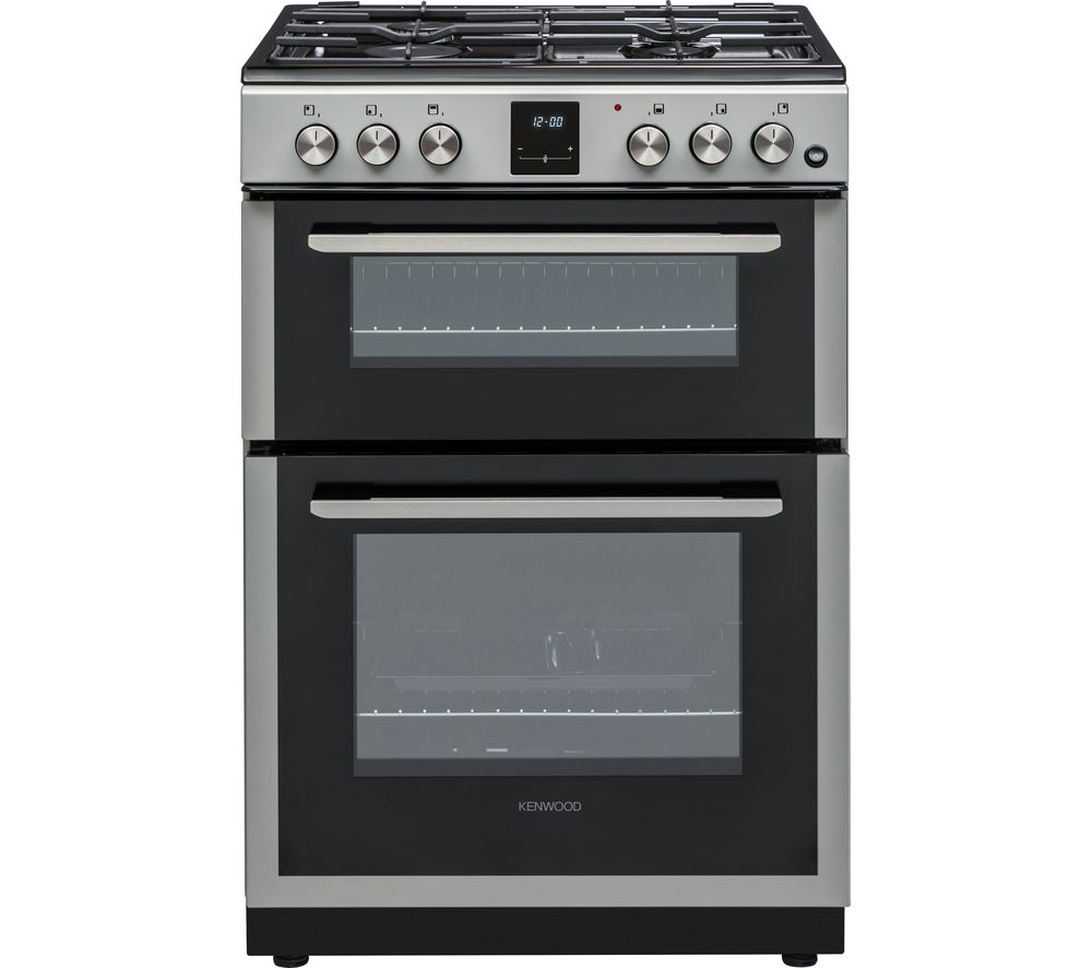 KDG606S19 60 cm Gas Cooker - Silver, Silver