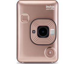 Image of INSTAX LiPlay Digital Instant Camera - Blush Gold