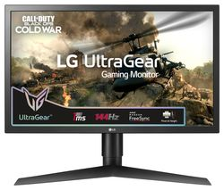"LG UltraGear 24GL650F Full HD 23.6"" LCD Gaming Monitor - Black"