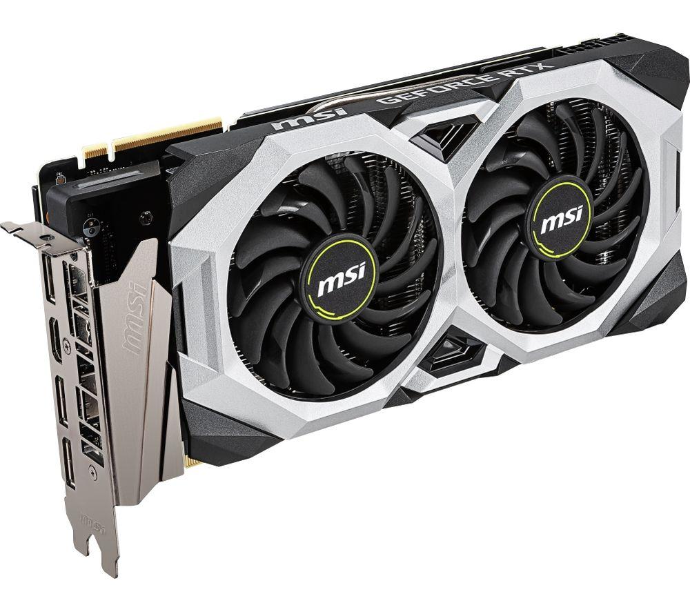 MSI GeForce RTX 2070 8 GB SUPER VENTUS GP OC Graphics Card