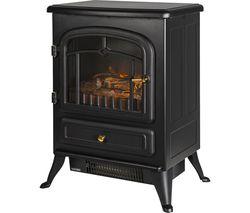 RHEFSTV1002B Electric Fire Stove - Black