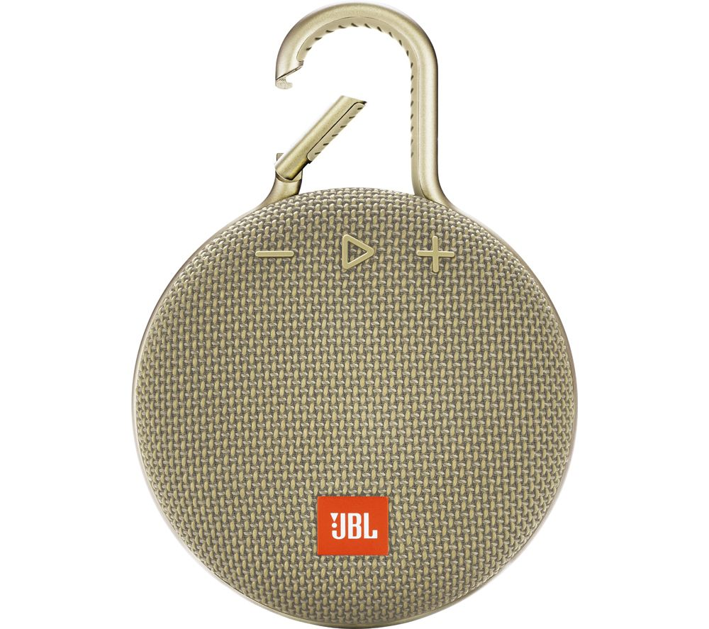 Clip 3 JBLCLIP3SAND Portable Bluetooth Speaker - Sand, Sand