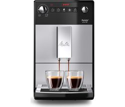 MELITTA Purista F230-101 Bean to Cup Coffee Machine - Silver Best Price, Cheapest Prices