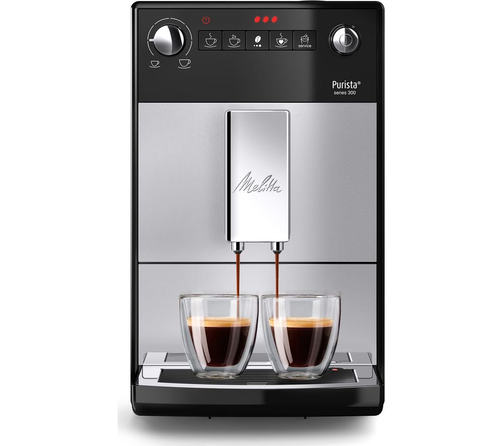 MELITTA Purista F230-101 Bean to Cup Coffee Machine - Silver