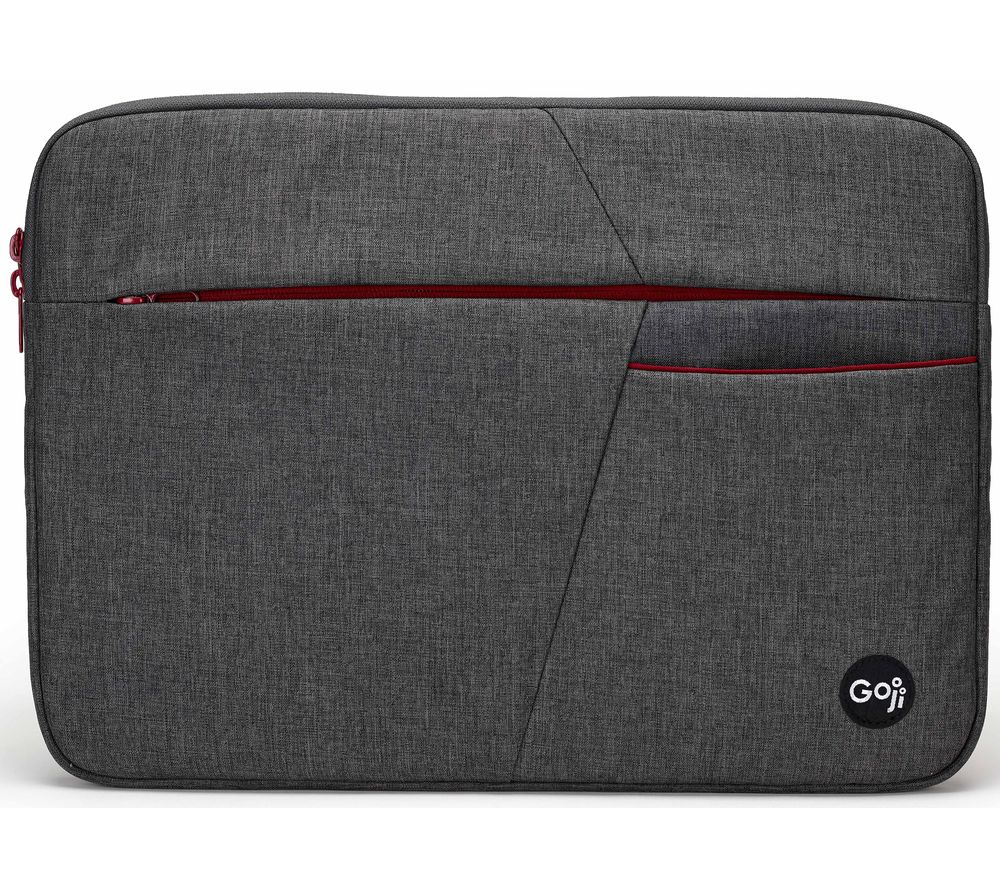"GOJI G14SBUG20 14"" Laptop Sleeve - Grey & Red"