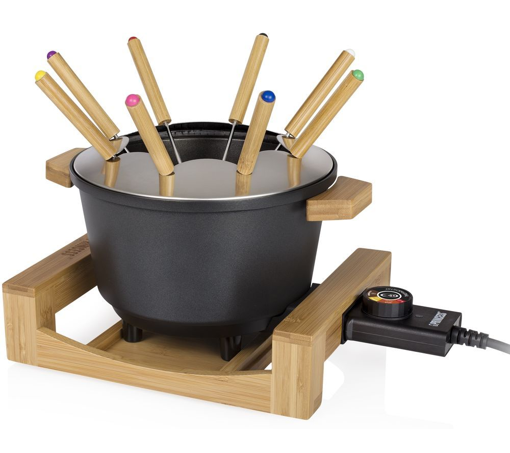 PRINCESS 173025 Fondue Pure Set - Black