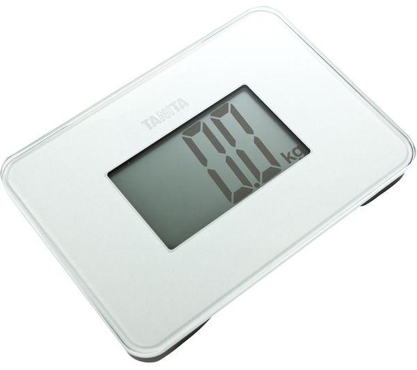 TANITA HD-386 Compact Bathroom Scale - White