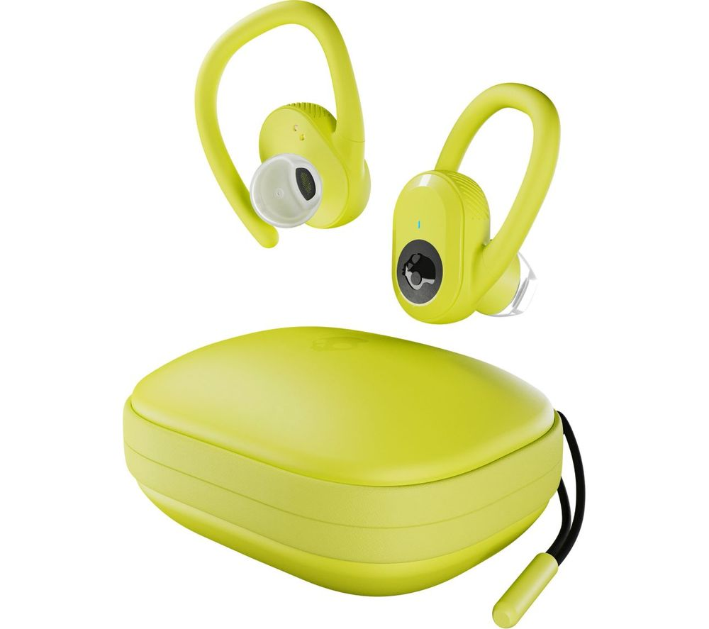 SKULLCANDY TW Push Ultra Wireless Bluetooth Sports Earphones - Yellow