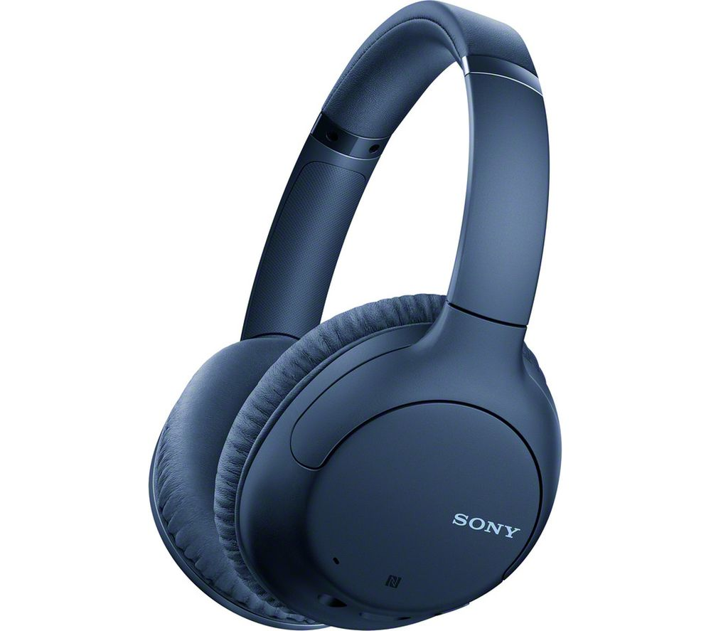 SONY WH-CH710N Wireless Bluetooth Noise-Cancelling Headphones - Blue