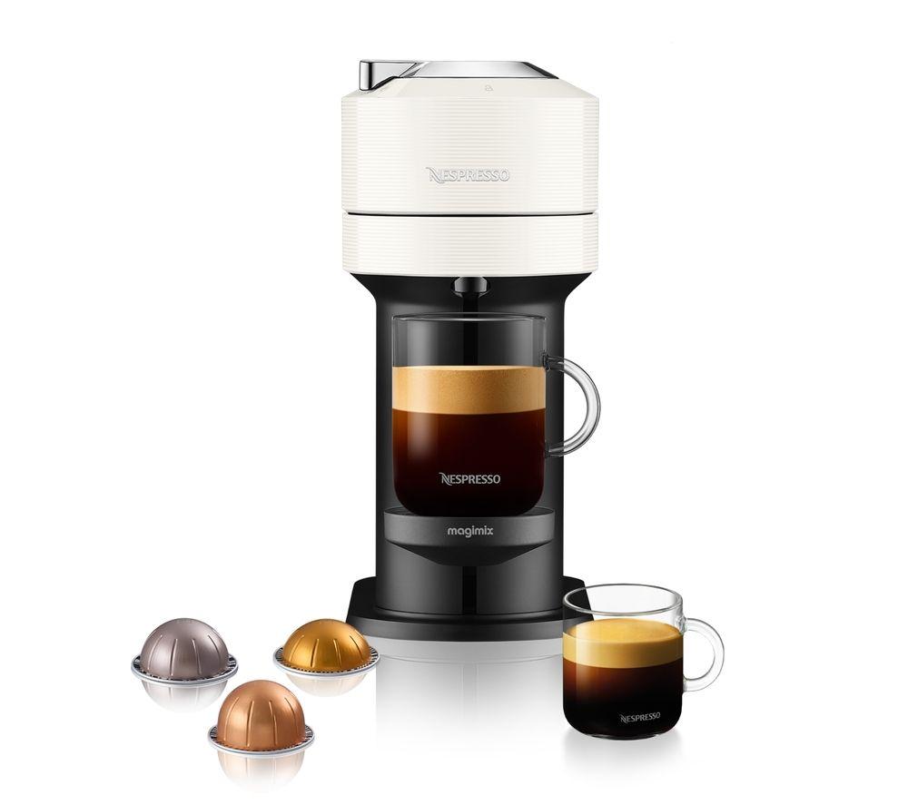 NESPRESSO by Magimix Vertuo Next Coffee Machine - White