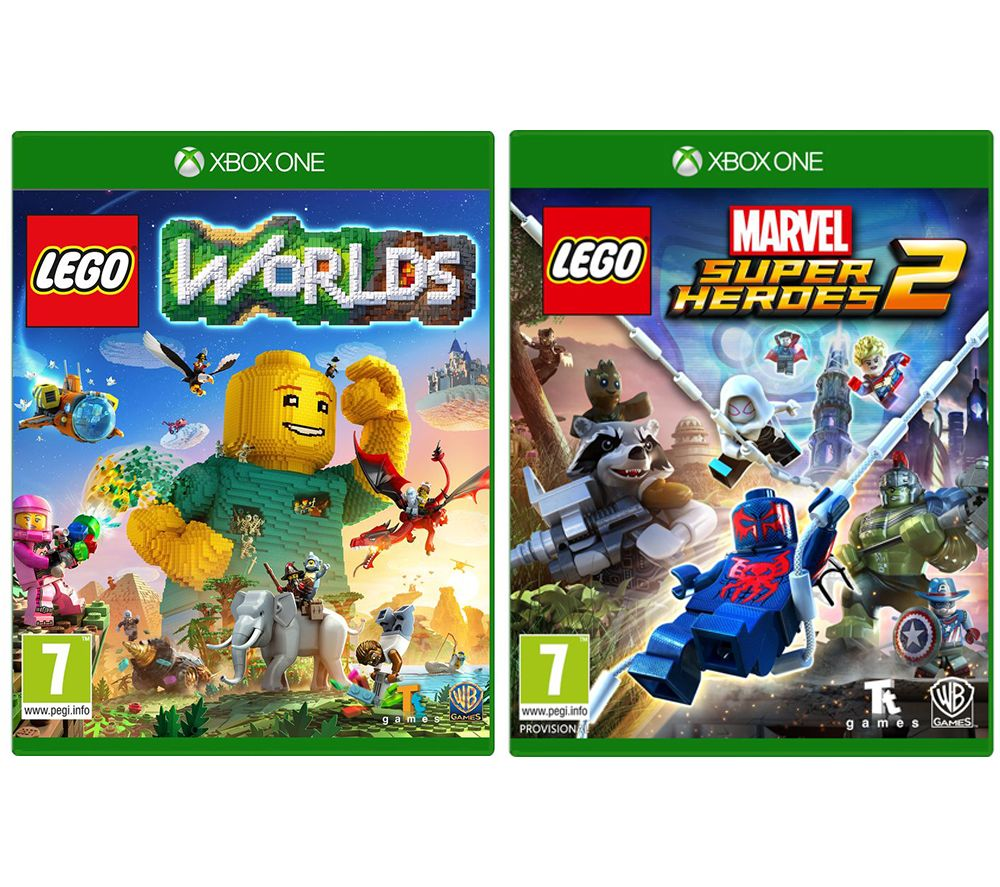 XBOX LEGO Worlds & Marvel Super Heroes 2 Bundle