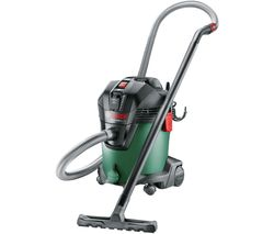 AdvancedVac 20 Cylinder Wet & Dry Vacuum Cleaner - Black & Green