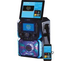 AVS1302 Bluetooth Karaoke System - Black