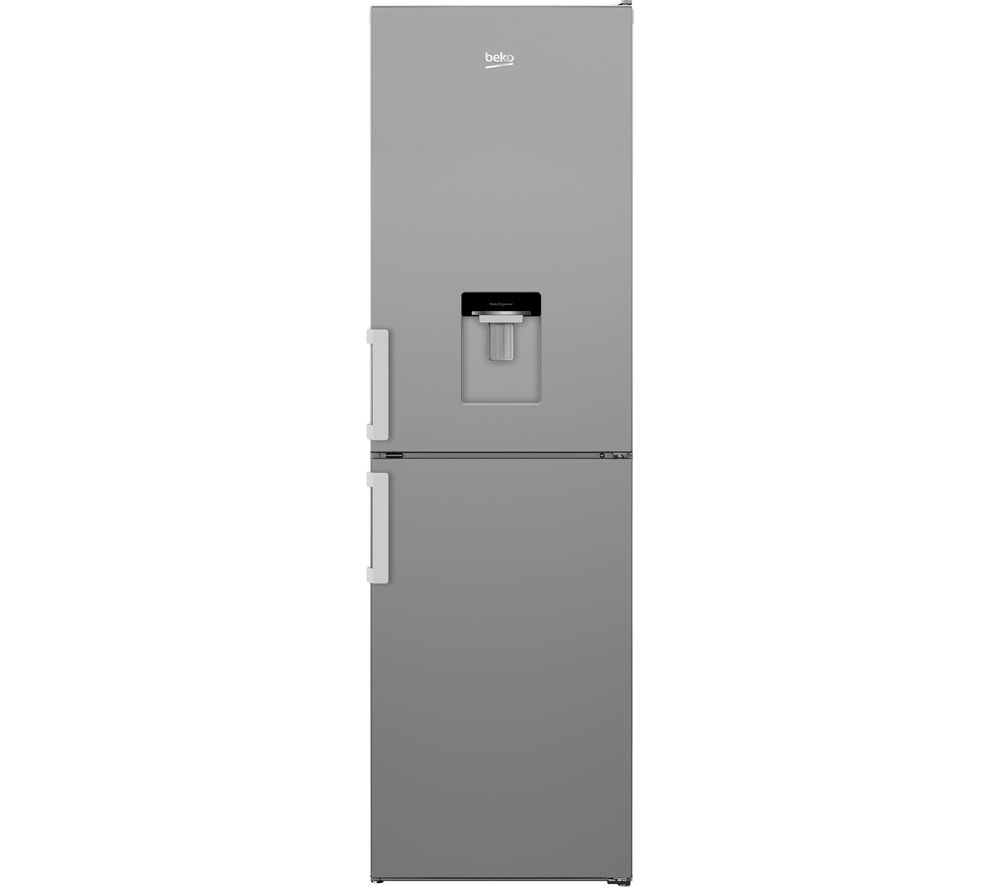 BEKO CXFP3582DS 50/50 Fridge Freezer - Silver, Silver